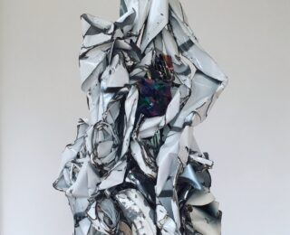twisted metal sculpture 2021 astrology